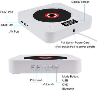 Reproductor DVD Altavoz Bluetooth USB HDMI