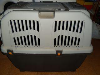 Transportin perro grande y jaulas para pajaros