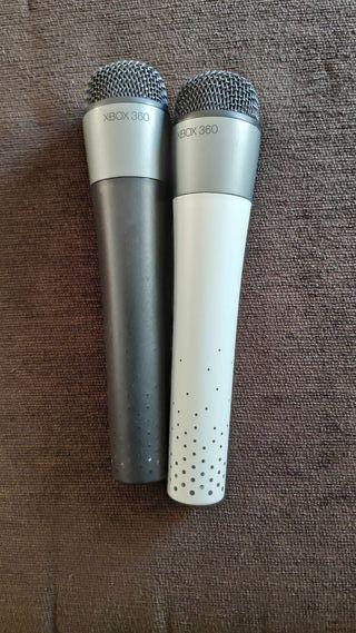 Xbox 360 microfono microfonos inalámbricos