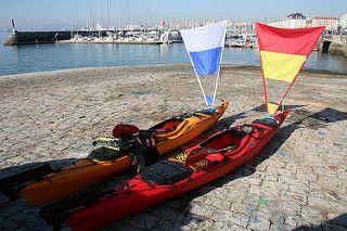 Vela de kayak