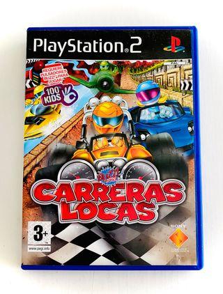 CARRERAS LOCAS - ps2