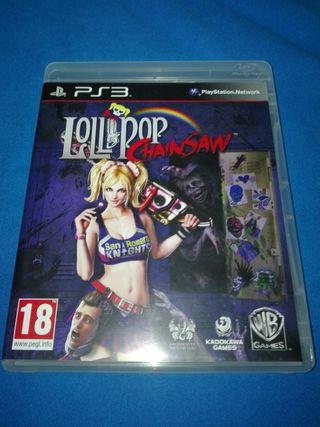 LOLLIPOP CHAINSAW PAL ESPAÑA PS3