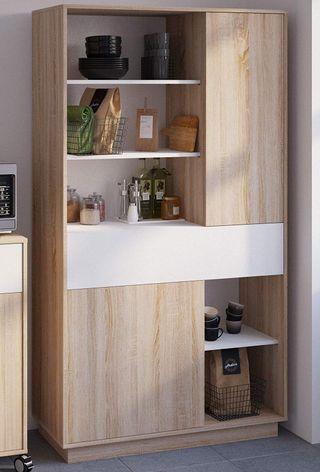 Aparador Alto Cocina Mueble microondas Auxiliar