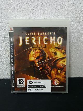 Juego Jericho PS3