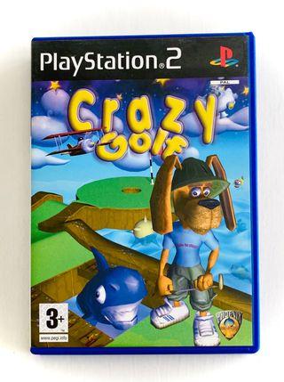 CRAZY GOLF - ps2