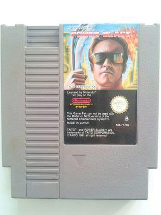 Cartucho Juego Power Blade PAL B Nintendo NES
