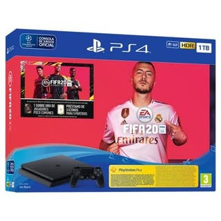 CONSOLA SONY PS4 SLIM 1TB + JUEGO FIFA20