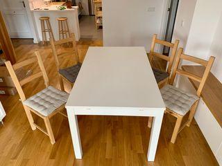 4 sillas madera Ikea