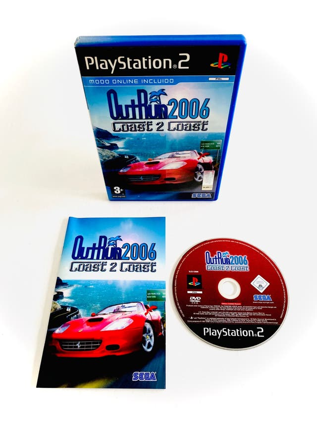 OUT RUN 2006 - ps2