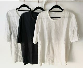 camisetas lino COS