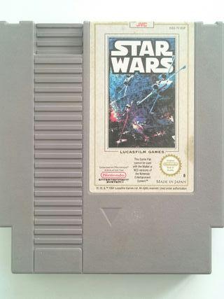 Cartucho Juego Star Wars PAL B España Nintendo NES
