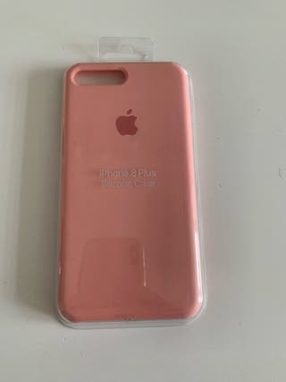 Funda para IPhone 7 y 8 Plus rosa