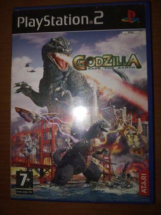 Godzilla Save the earth Ps2