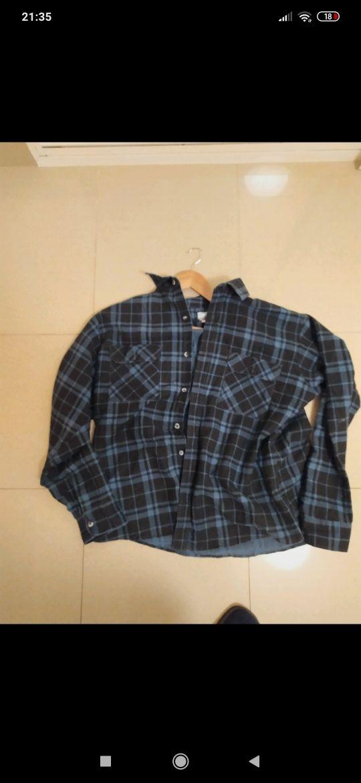 Camisa franela vintage