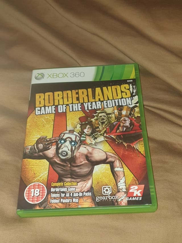 borderlands game of the year edition para xbox 360