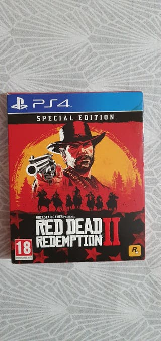 RED DEAD REPEMPTION 2 - PS4