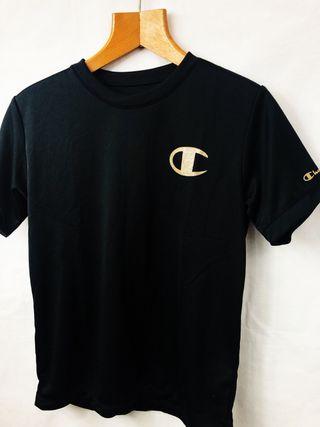 Champion Black & Gold T Shirt Size Small