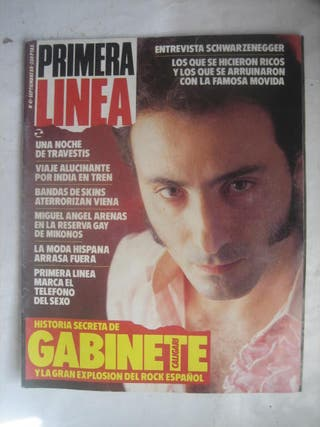 Revista Primera Línea 41 Gabinete Caligari