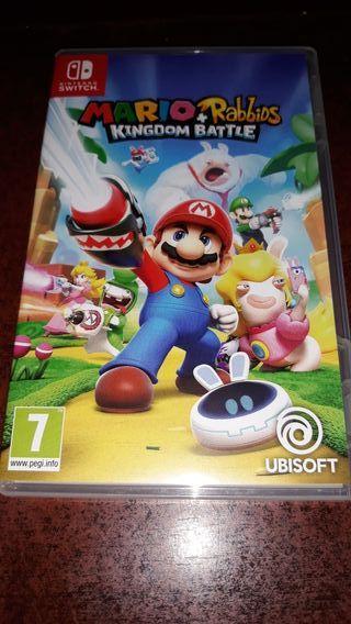 juego de nintendo switch Mario Rabbit ...