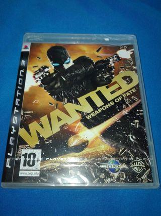 WANTED PAL ESPAÑA PRECINTADO PS3