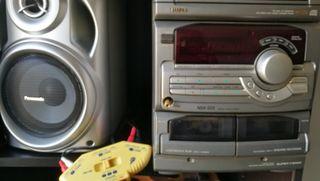 Altavoces + regalo minicadena amplificadora
