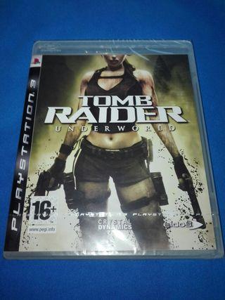 TOMB RAIDER PAL ESPAÑA PRECINTADO PS3