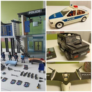 Super Lote Policías playmobil