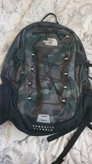 Mochila the north face camuflaje