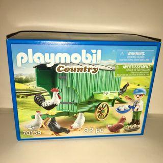Playmobil gallinero remolque a estrenar