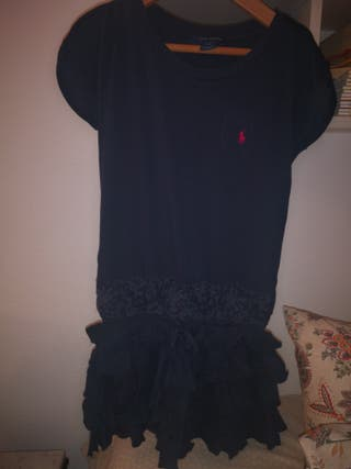 vestido Ralph Lauren niña