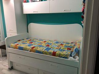 cama nido niños