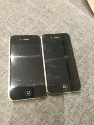 iPhone 4, 4S y SE para piezas (3 uds)