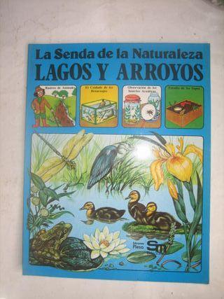 libro cuento plesa SM Lagos y Arroyos senda Natura