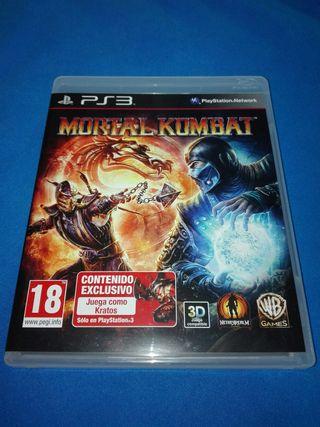 MORTAL KOMBAT PAL ESPAÑA PS3