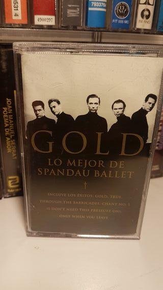 cassete..Spandau Ballet..Gold - Lo Mejor De Spanda