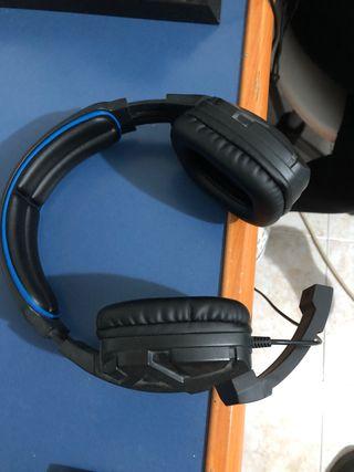 Auriculares con micro ps4