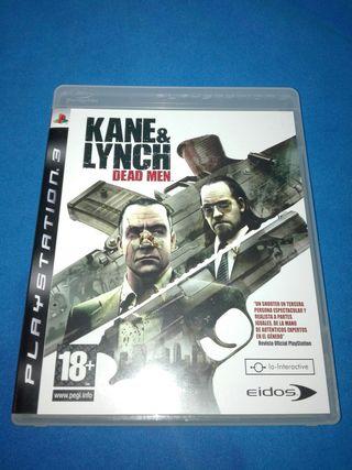 KANE & LYNCH PAL ESPAÑA PS3