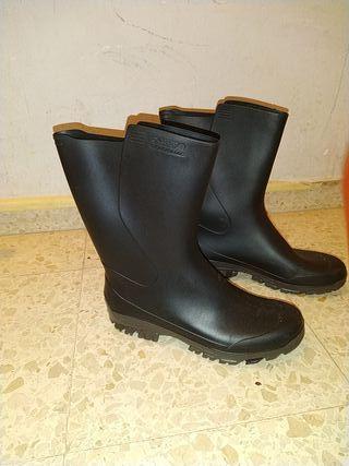 botas agua hombre