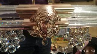 LAMPARA CRISTALES