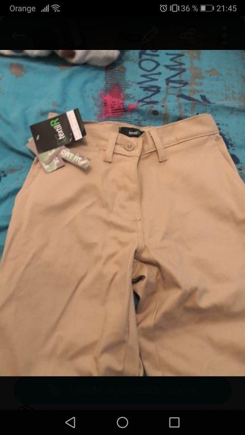 pantalón tipo chino nuevo