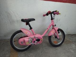 Bicicleta de niña Decathlon
