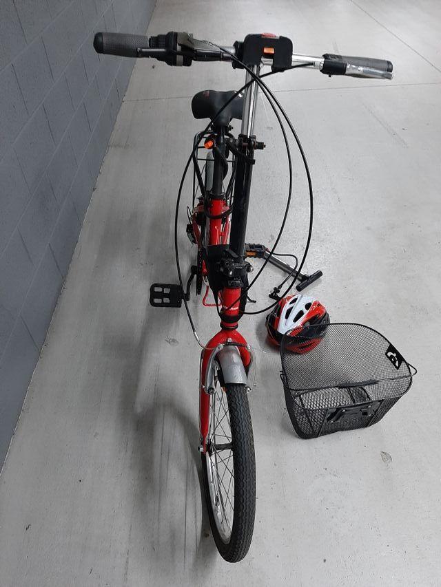 bicicleta plegable adulto