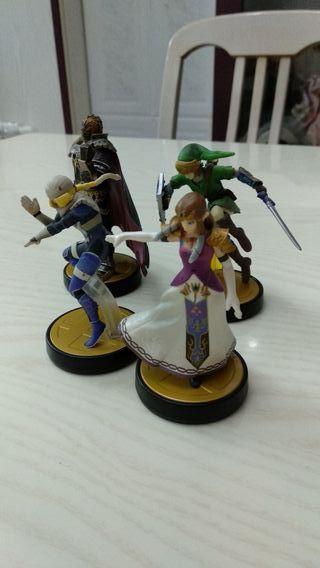 Amiibos de Zelda