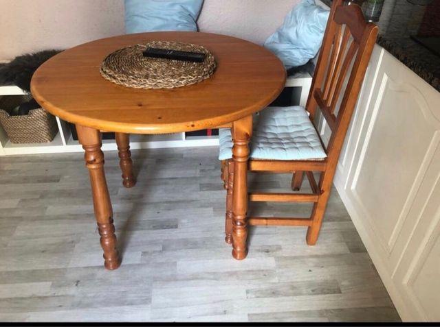Mesa madera extensible