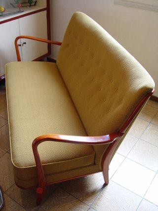 Vintage rebajado sofá liquidación