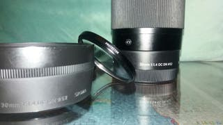 Objetivo Sigma 30mm/f1.4 DC DN C diámetro 52