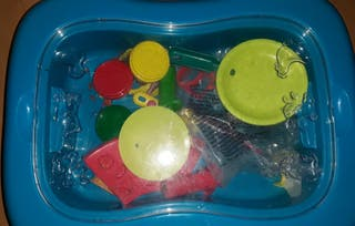 mesa plastilina playgo infantil
