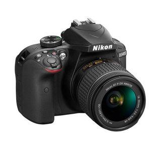 Cámara de fotos nikon 3400