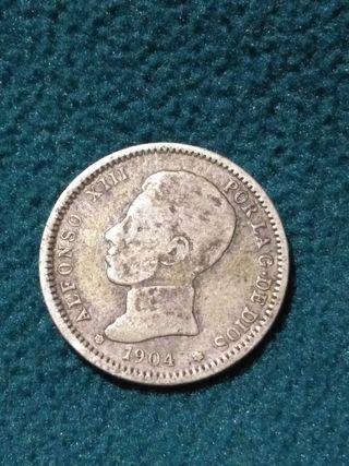 1 peseta de 1904