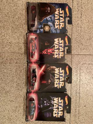 Hot wheels Star wars leer descripcion